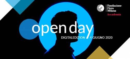 Open Day virtuale dei master di Fondazione Fiera Milano