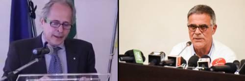 """Crisanti contro Zangrillo: """"Fosse venuto a Vo' a gennaio avrebbe detto che il virus clinicamente non esisteva"""""""