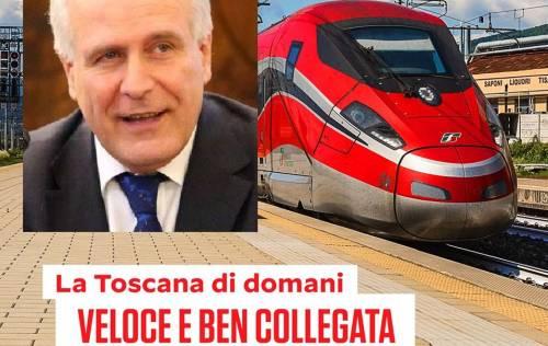 Se Giani (candidato pd alla Regione Toscana) gongola per l'alta velocità che non c'è