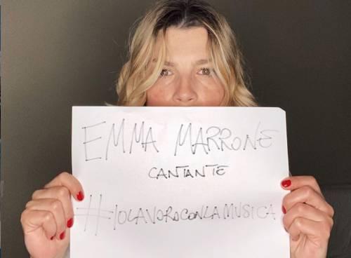 """Emma: """"Chiediamo che il governo dia dignità al mondo della musica"""""""