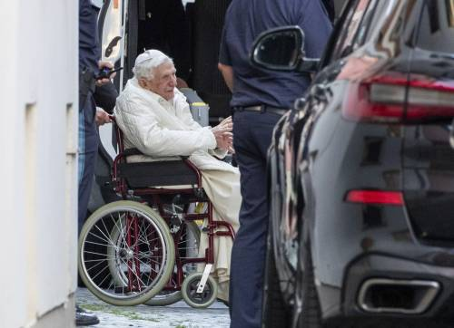 La lezione di Ratzinger in foto