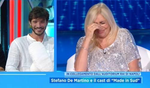 """""""Non vado più dietro alle donne"""". De Martino tombale a Domenica In"""