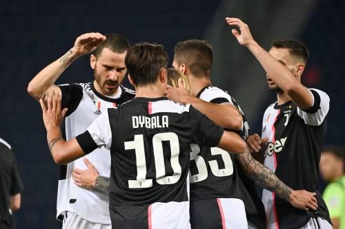 Serie A, Lecce-Milan 1-4, Fiorentina-Brescia 1-1. La Juve vince 2-0 a Bologna