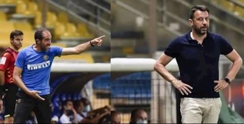 Parma-Inter, volano stracci D'Aversa attacca il vice di Conte e l'arbitro
