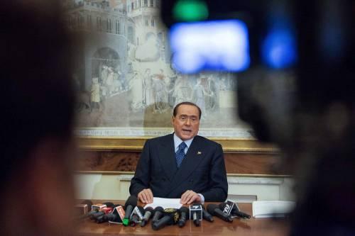 """Berlusconi: """"C'è un gruppo di potere che condiziona le sentenze"""""""