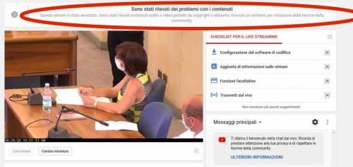 """Parla di Bibbiano in Consiglio. E Youtube """"censura"""" Fratelli d'Italia"""