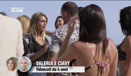 Temptation Island senza lieto fine per Ciavy e Valeria: lei