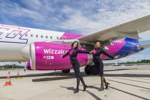 Wizz Air, primi voli per l'Europa dalla base di Malpensa