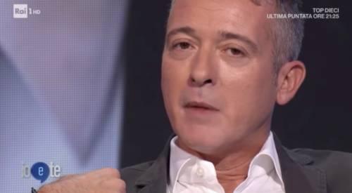"""Diaco piange in tv con Insinna: """"Se mi rivolgo in maniera sgradevole è perché chiedo aiuto"""""""