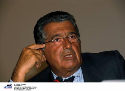 De Benedetti fa come Prodi: ''Favorevole a un governo Pd con Berlusconi''