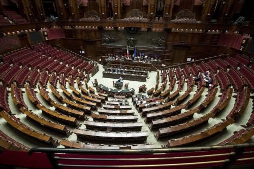 Nessuna fretta. Parlamento chiuso per ferie