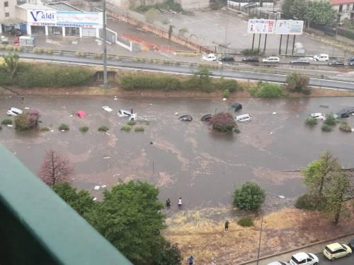 Nubifragio, Palermo in tilt: e nei sottopassi muoiono annegate 4 persone 4