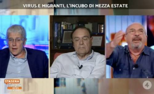 """Da Vauro insulti choc a Mario Giordano: """"Non parlo se il chihuahua mi interrompe"""""""