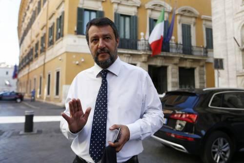 """La difesa di Salvini: """"Conte sapeva tutto. Se questo è un reato tanti risponderanno"""""""