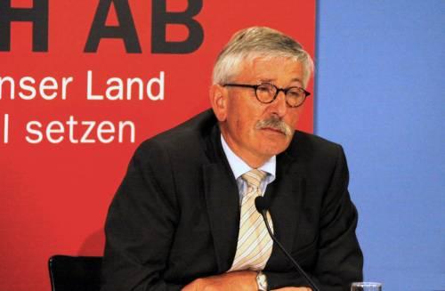 L'Spd esulta: espulso definitivamente il suo esponente anti-islam Thilo Sarrazin