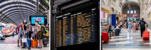 Distanze su treni, bus e metro. Ancora mascherine e sacrifici