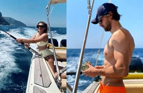 Il colpo di scena per la Marrone: con chi è stata beccata in barca