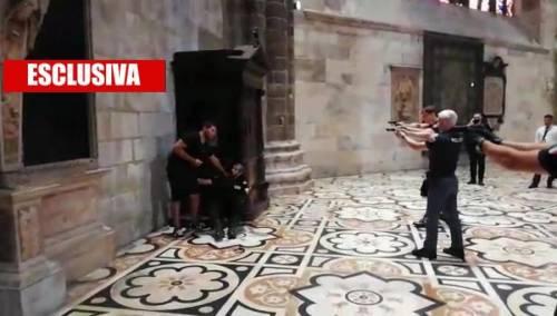 Esclusiva: ecco il video dell'aggressione in Duomo