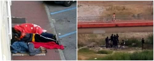 Nella favela di Ventimiglia  dove dormono i migranti