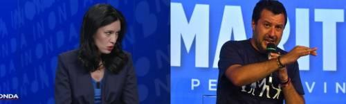 """""""Come lager..."""", """"Troglodita"""": è rissa tra Salvini e Azzolina"""
