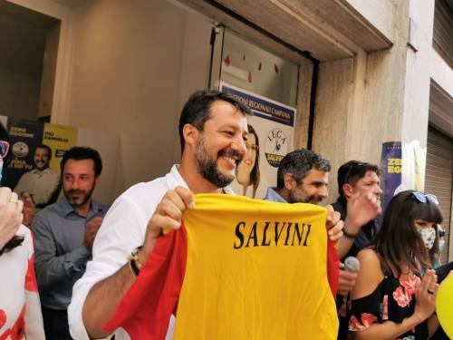 """Mastella multa Salvini: """"Non ha la mascherina. E ora paghi 600 euro"""""""