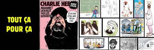 Charlie Hebdo ripubblica le vignette su Maometto