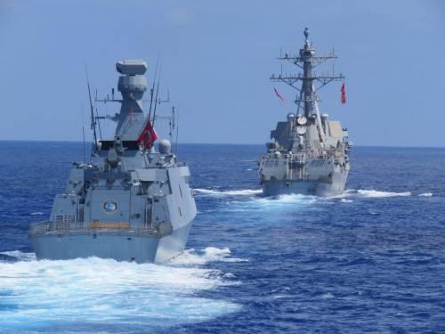 87 navi e 27 aerei già in azione: scatta la manovra della Turchia