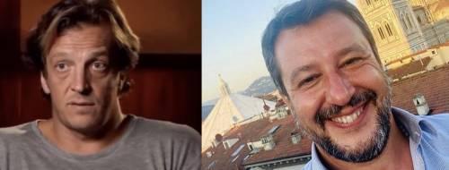 "L'odio rosso di Gabriele Muccino contro Matteo Salvini: ""Nessuna solidarietà per lui"""