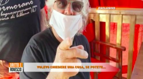 """Spunta il video che incastra Grillo: """"Poveraccio, ignorante e tirchio"""""""