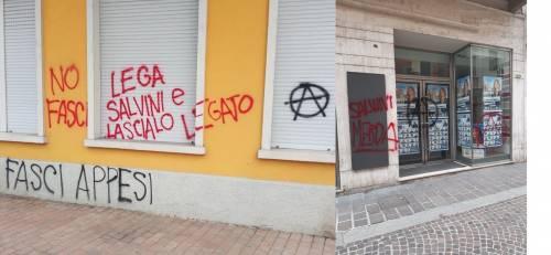 """Assalto alla sede del Carroccio: """"Lega Salvini e lascialo legato"""""""