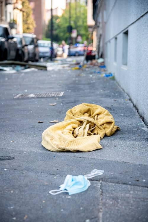 Milano, violenta esplosione in un condominio in piazzale Libia 3