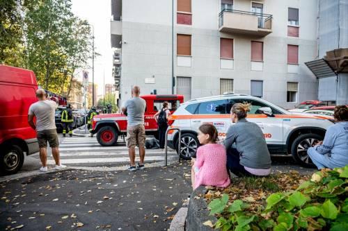 Milano, violenta esplosione in un condominio in piazzale Libia 5