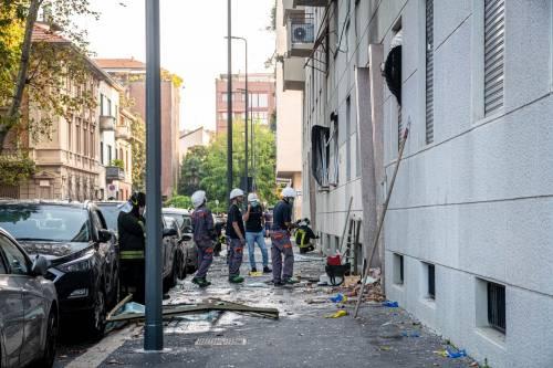 Milano, violenta esplosione in un condominio in piazzale Libia 9
