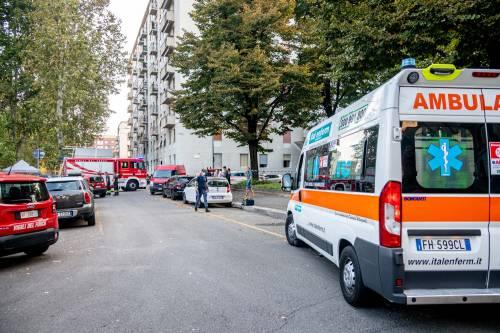Milano, violenta esplosione in un condominio in piazzale Libia 10