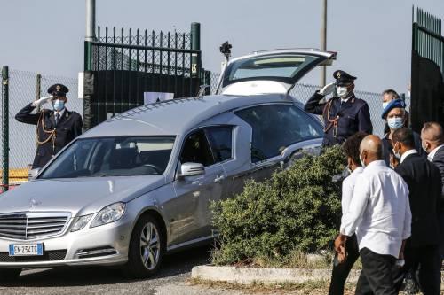 I funerali di Willy al campo sportivo di Paliano 2