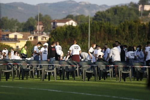 I funerali di Willy al campo sportivo di Paliano 7