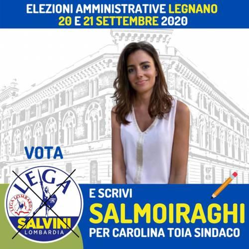 Sara Salmoiraghi, la candidata legnanese che dà voce ai pendolari