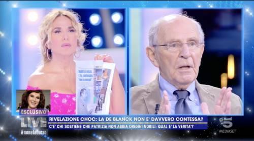 La rivelazione sulla contessa De Blanck     È la nipote di Mussolini  -
