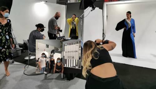 Sul set di TheOneMilano scatti di moda firmati da tre giovani fotografi