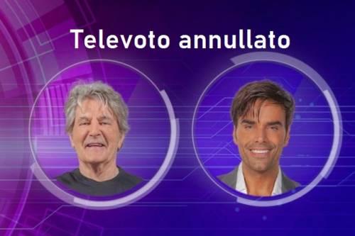 GfVip, televoto annullato. Provvedimento disciplinare per un concorrente