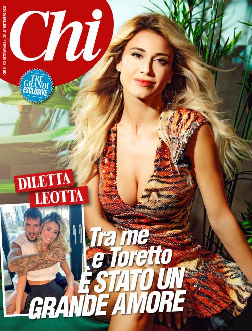 """Diletta Leotta si sbottona: """"Scardina? Un grande amore. Ma con Ibra la situazione era sbagliata"""""""