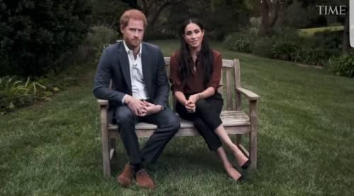 """L'esperta: """"Il principe Harry a disagio, Meghan Markle predominante"""""""