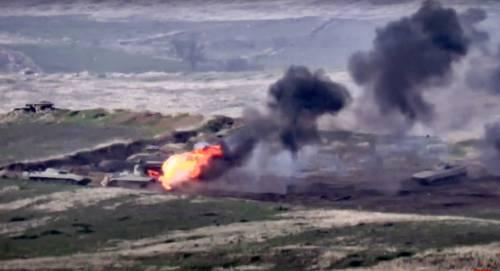 In Nagorno Karabakh 100 morti. Oleodotti e gasdotti in pericolo