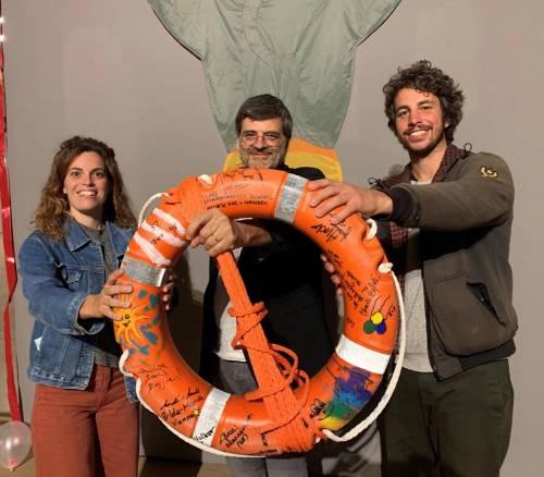 Una nuova Ong per i migranti. La colletta la fanno le sardine