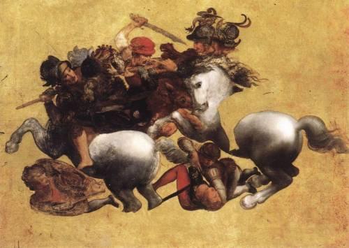 """Battaglia di Anghiari: """"Leonardo da Vinci non l'ha mai dipinta"""""""