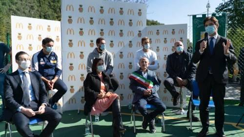 Ad Arquata del Tronto McDonald's inaugura il nuovo centro sportivo 4