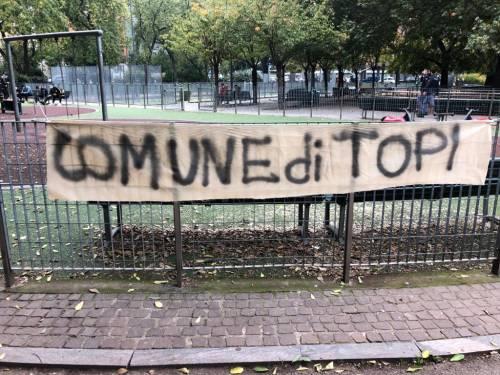 Milano infestata dai topi: striscioni di protesta contro Sala 2