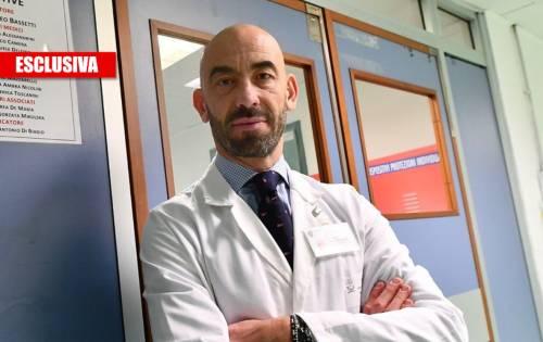 """Bassetti: """"Non abbiamo mai abbandonato i malati. Il virus non è devastante"""""""