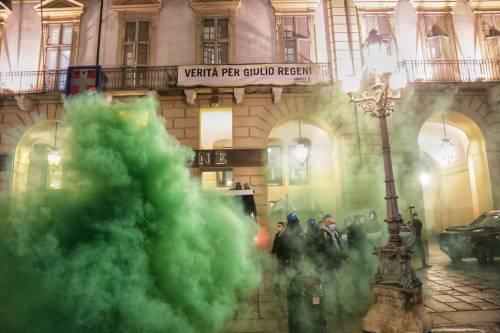 Alta tensione in piazza: disordini a Torino e Milano 3