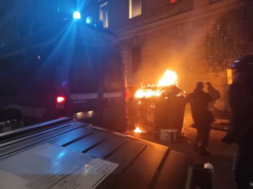 Cariche e scontri tra polizia e antagonisti a Roma 3